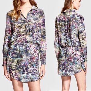 Haute Hippie • mini button dress